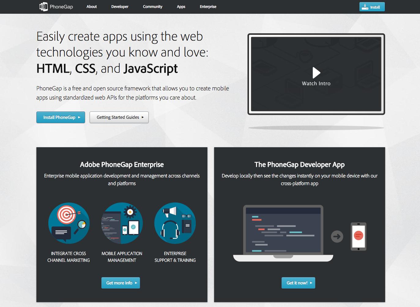 Framework Creare App Ibride Per Ios Android E Windows