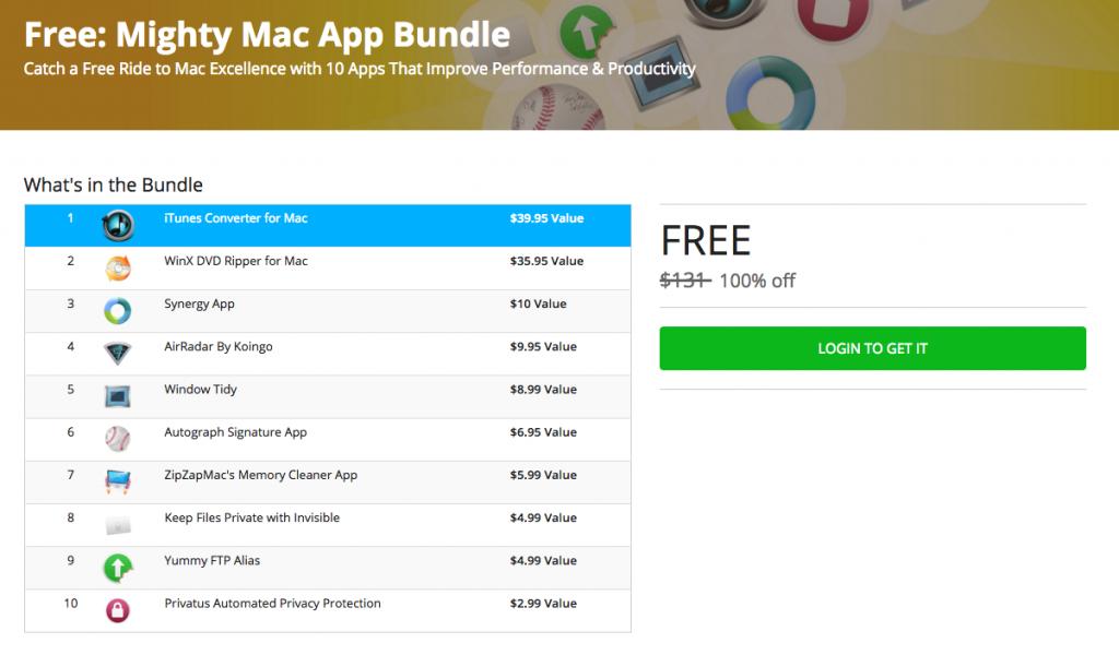 Bundle applicazioni Mac