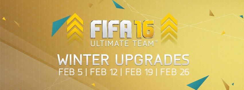 Fifa 16 Winter upgrade FUT